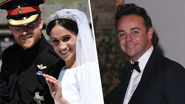 Royal Wedding Ant McPartlin