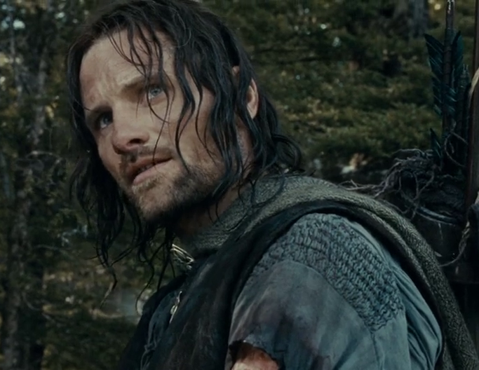 New Lord Of The Rings TV Series To Focus On Young Aragorn Aragorn Close up   FOTR