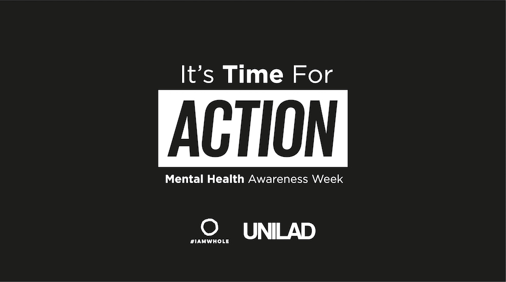 Our campaign branding for Mental Health Awareness Week: It's Time For Action