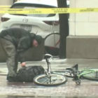 Cyclist Fed Up With Waiting For Bomb Squad Empties Bag Himself