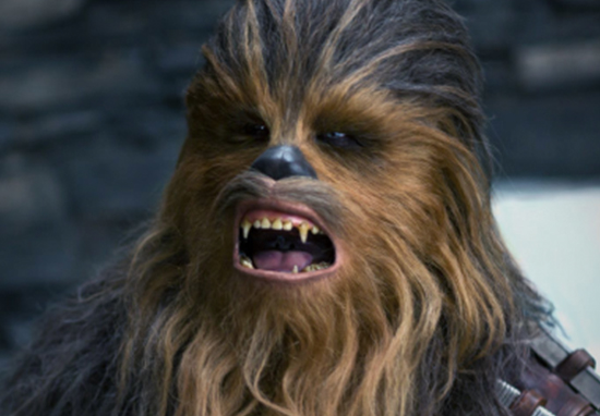Chewbacca Looks Very Different Without His Fur