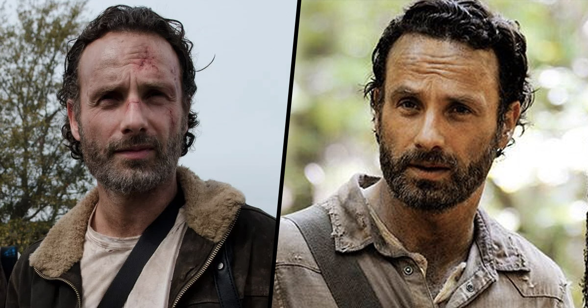 The Walking Dead star Rick Grimes, Andrew Lincoln