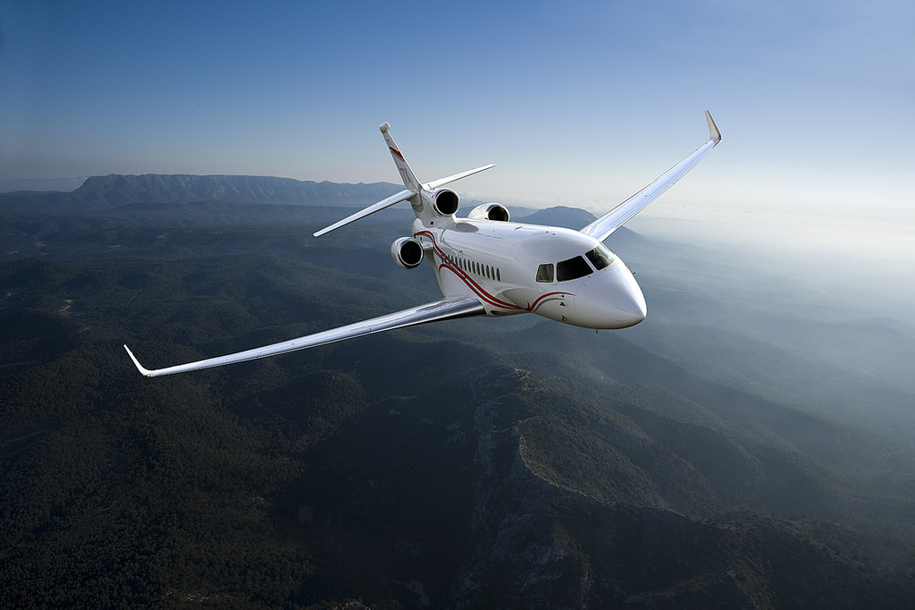 Flacon X7 Private aircraft