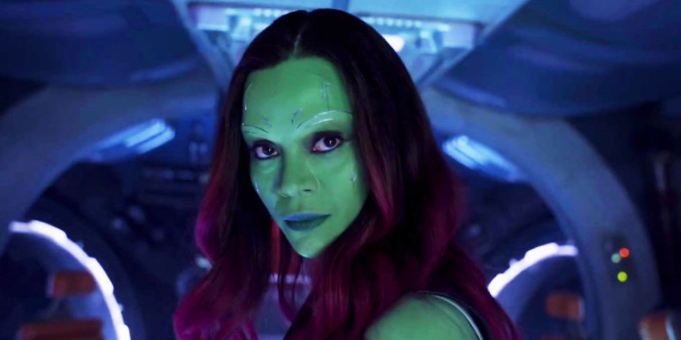 gamora guardian of the galaxy thanos marvel studios infinity war