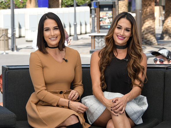 Nikki Bellas Twin Makes Shock Claim About John Cena GettyImages 612336604