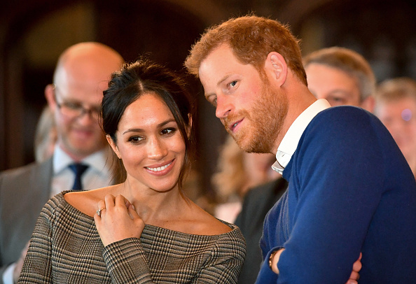 Prince Harry And Meghan Markle Are Married