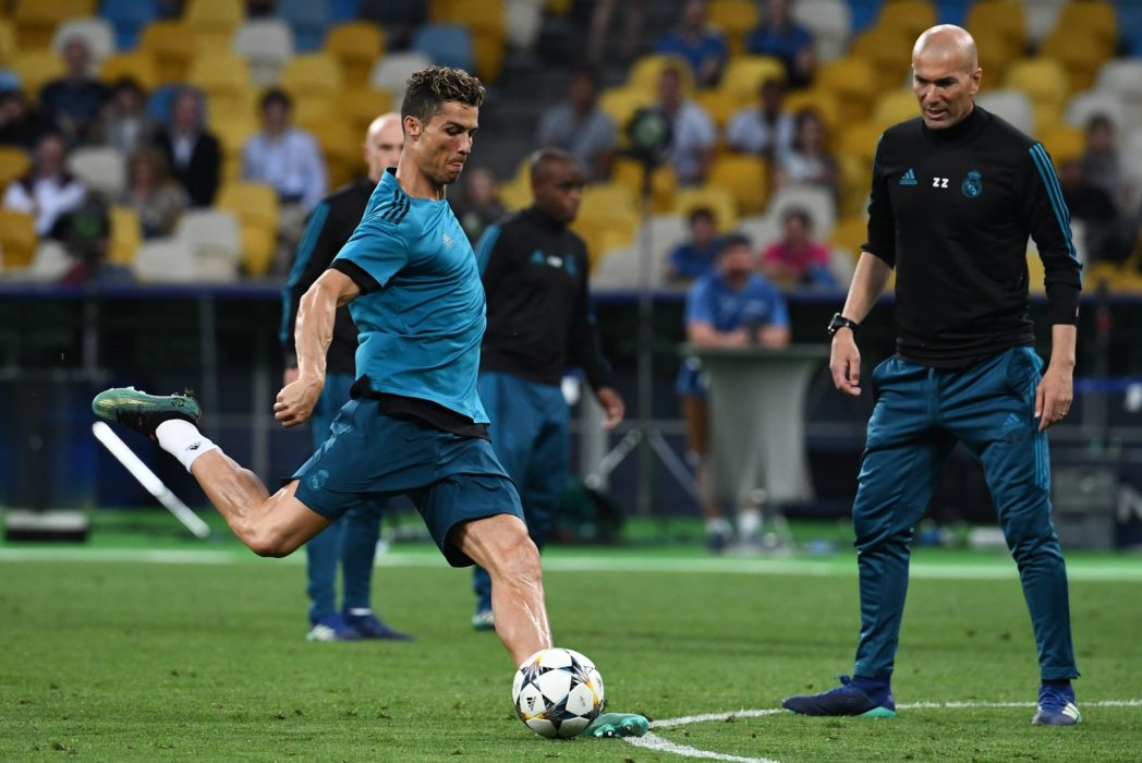 Cristiano Ronaldo Kicked A Ball So Hard At A Cameraman He Needed Stitches