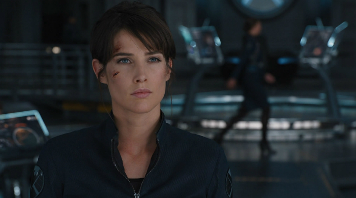 Cobie Smulders aa agent maria hill in Avengers