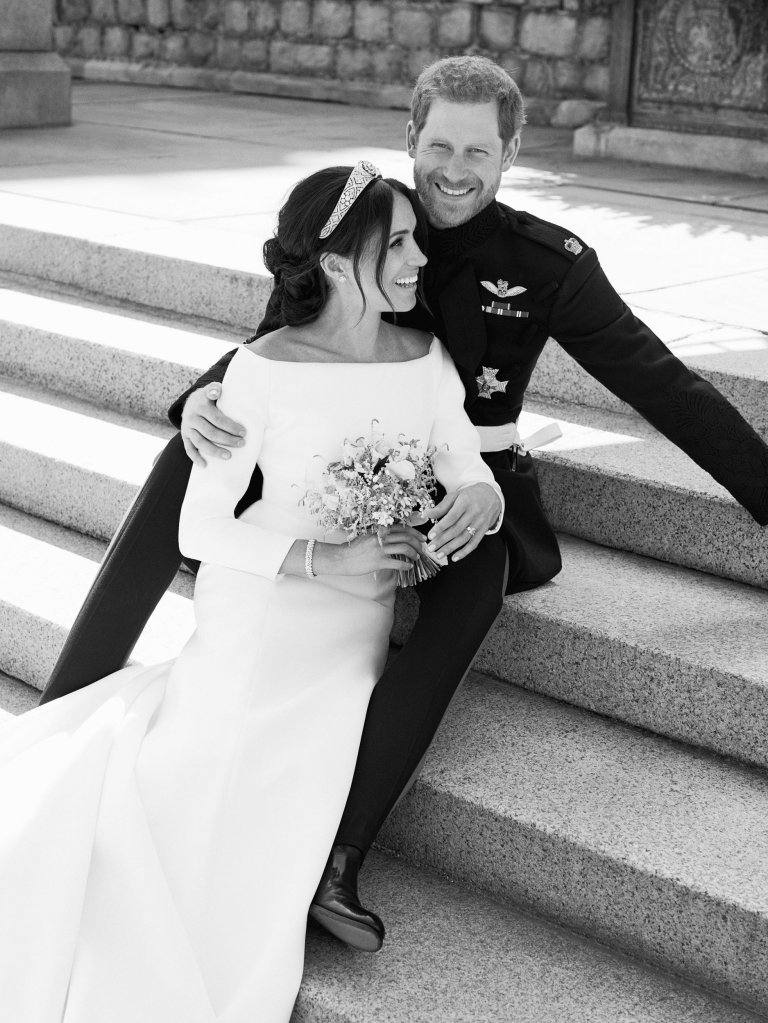 Prince Harry and Meghan Markle official wedding photo