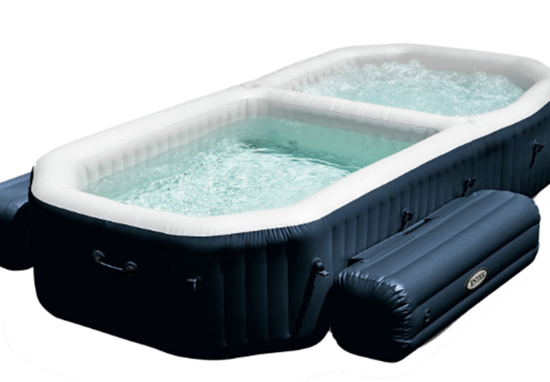Argos is selling a very reasonable hot tub.
