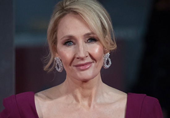 JK Rowling head shot