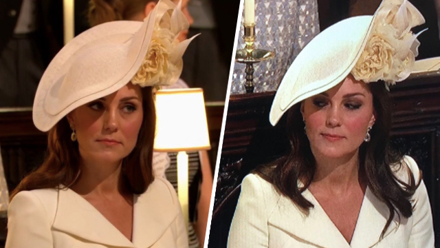 Kate Middleton at Royal Wedding of Prince Harry and Meghan Markle