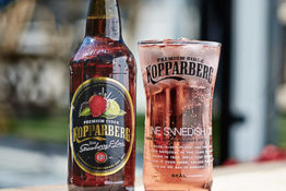 Frozen Kopparberg sold for a bargain at B&Ms