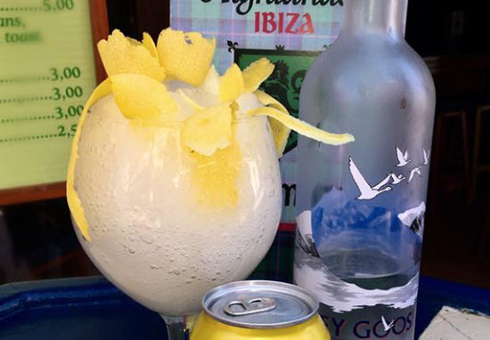 Ibiza Bar sells alcoholic Fanta Lemon