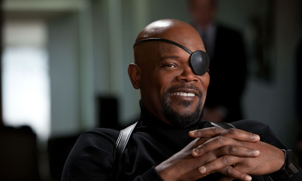 Samuel L.Jackson as Nick Fury