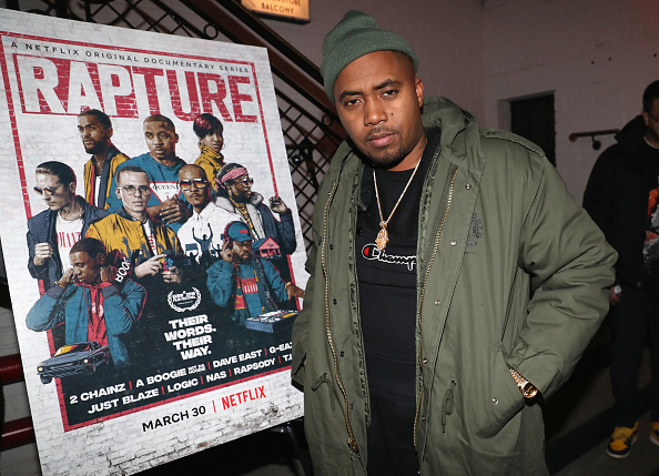 Nas at Rapture special screening
