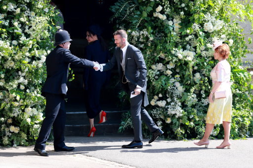 David Beckham Did Something Incredible Before Harry And Meghans Wedding PA 36582125