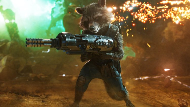 rocket gun guardian of the galaxy marvel