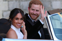 Harry and Meghan Markles wedding