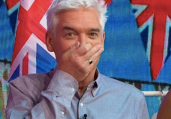 Phillip Schofield loses it over hilarious swimsuit