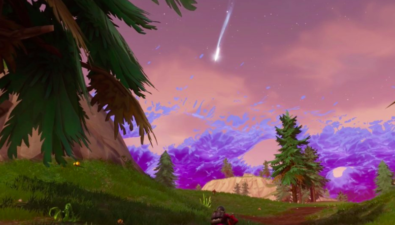 Fortnite Comet Finally Hits And Changes The Game Forever