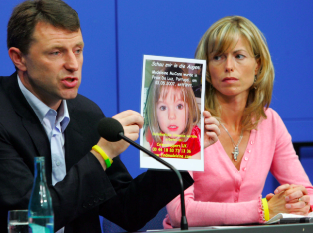 Kate McCann Gerry McCann New money for Madeleine search