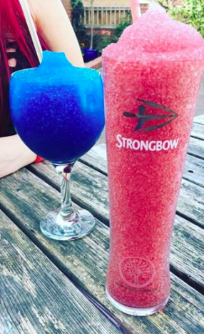 Frozen Alcoholic Slushie Drinks