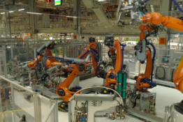 'Dancing Robots' Now Build Cars And It's Terrifying