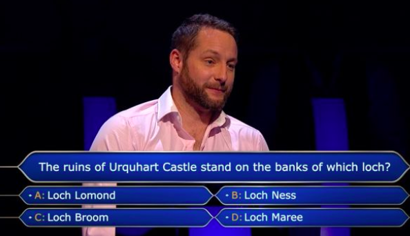 amputee gareth kendall who wants to be a millionaire