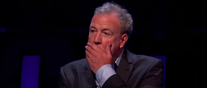 Jeremy Clarkson shocked on who wants to be a millionaire