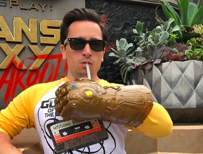 Disneyland Infinity Gauntlet You Can Drink Booze From
