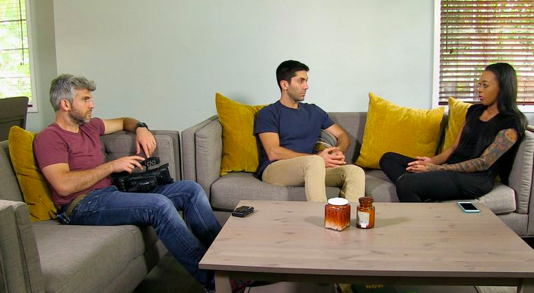 ayissha morgan on MTV's Catfish with Nev Schulman