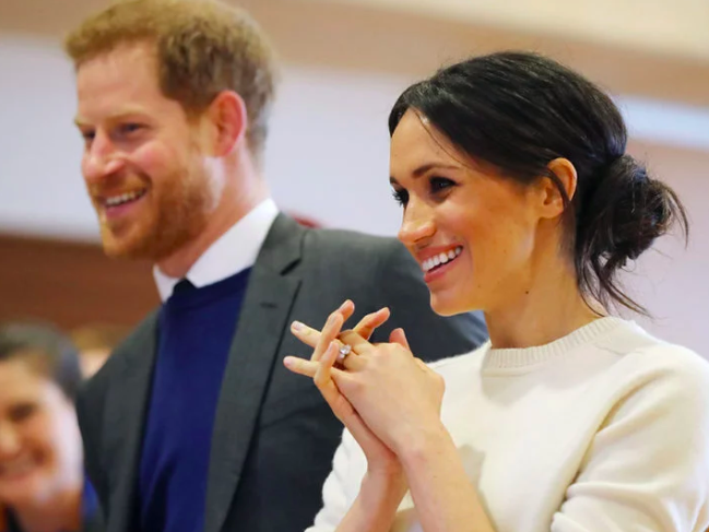 Harry and Meghan are actually related.