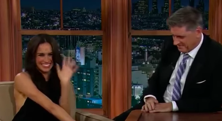 Meghan Markle interviewed by Craig Ferguson in 2013