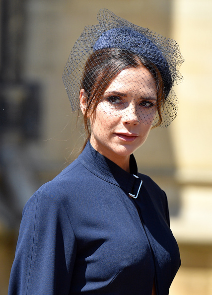 Victoria Beckham attends Royal Wedding of Prince Harry and Meghan Markle