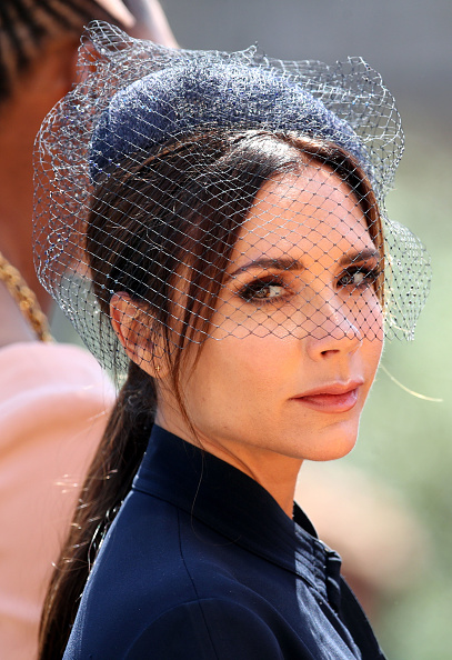 Victoria Beckham at Royal Wedding of Prince Harry and Meghan Markle