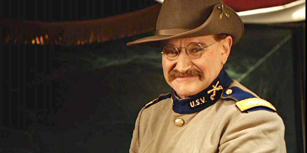 Actor Robin Williams in Night at the Museum