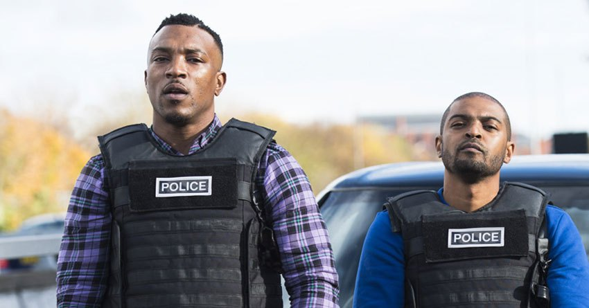 Still from Bulletproof staring Ashley Walters and Noel Clarke