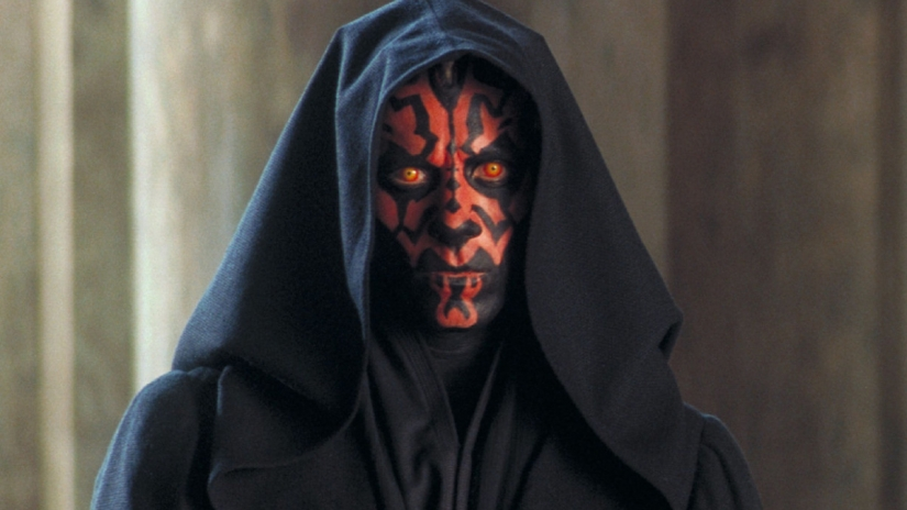 Ray Park as Darth Maul in Star Wars: Episode I The Phantom menace