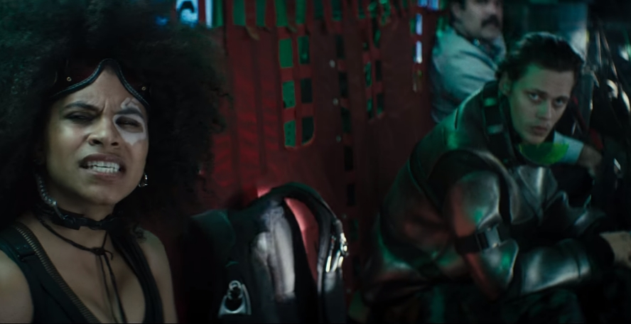 Deadpool 2 still featuring X-Force members Domino and Zeitgeist