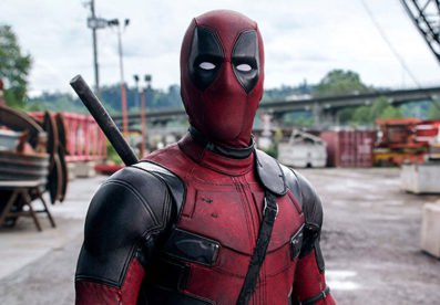 ryan reynolds as the masked superhero deadpool in the sequel Deadpool 2