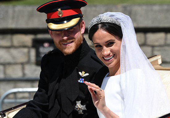 Prince Harry and Meghan Markle's wedding day