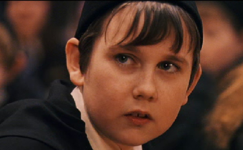 Neville Longbottom in Harry Potter
