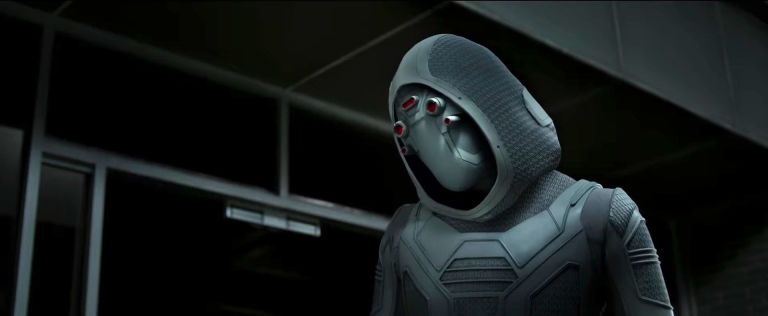 The Ghost from Ant-Man and The Wasp