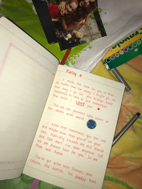 Girl Feels Guilty About Leaving Her Sister To Go Travelling, Makes Her Heartwarming Present image 7