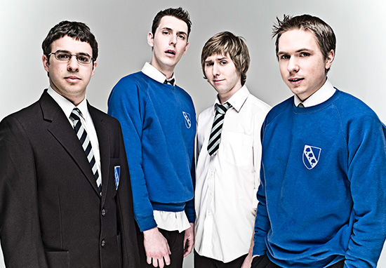 Promotional still from Inbetweeners Season One