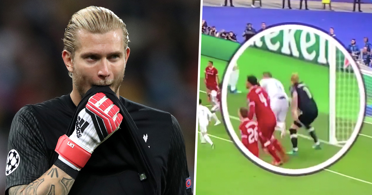 Footage Of Sergio Ramos' Elbow On Karius Minutes Before First Mistake Has Been Found