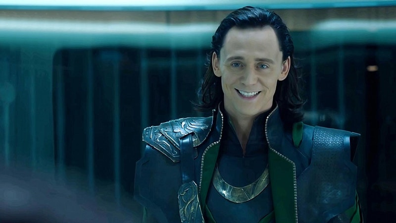 Tom Hiddleston as Marvel character Loki