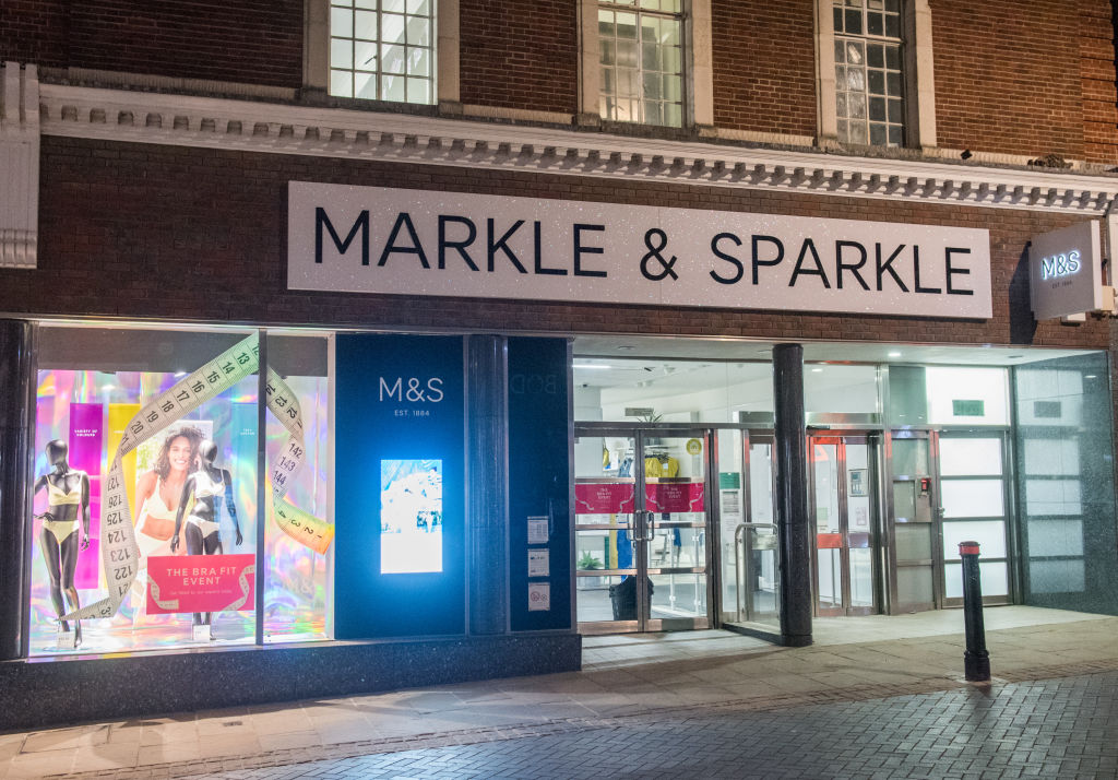 Marks and Spencer change name to Markle and Sparkle