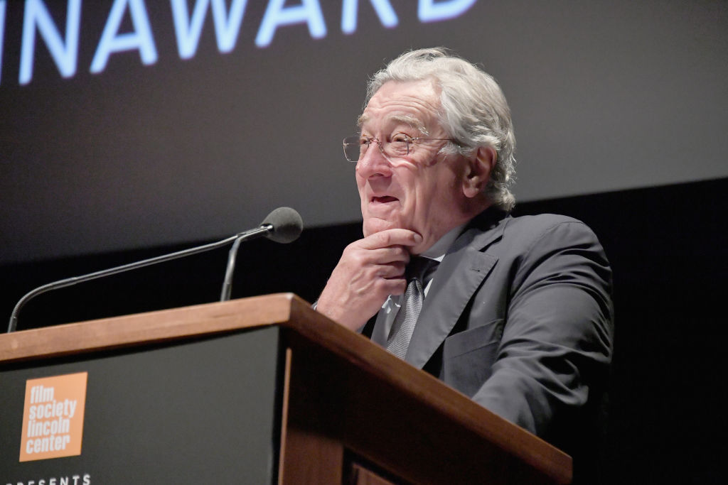 Robert De niro at 45th Charlie Chaplin awards